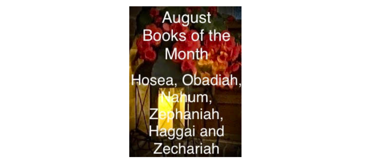 August 2020 Books of the Month